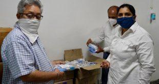 1000 Safety Kits courtesy Shri Ramsharnam Kendar Chandigarh for Corona Warriors of Police