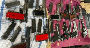 PUNJAB POLICE BUSTS MP BASED GANG OF ILLEGAL WEAPONS SMUGGLERS