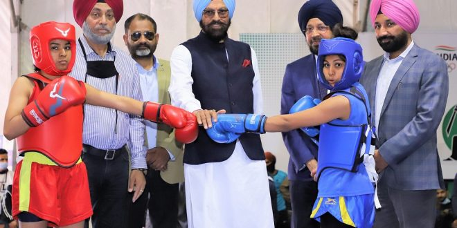 Punjab Sports Minister inaugurates 29th Senior National Men & Women Wushu Championship at Chandigarh University